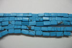 Turquoise Metric Square beads